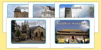 Places of Worship Display Photos - worship, religion, RE, display