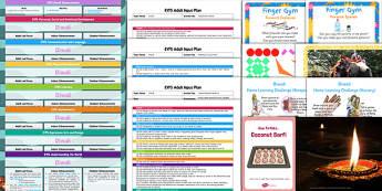 EYFS Diwali Bumper Planning Pack - eyfs, diwali, bumper, planning pack