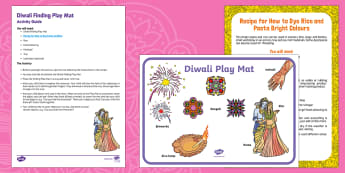 Diwali Finding Busy Bag Resource Pack for Parents