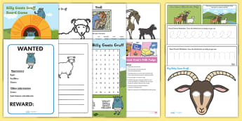 the three billy goats gruff activities - - billy goats gruff, traditional tales, fairy tales, troll,