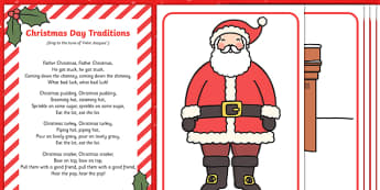 Christmas Day Traditions Song Pack - song, christmas