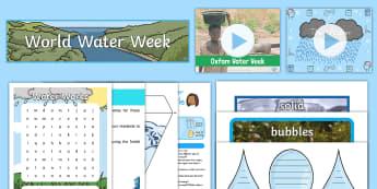 Intergenerational Ideas Oxfam Water Week 2017 - Calendar Planning July 2017, ideas, support, activities co-ordinators, care home, elderly