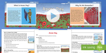 Anzac Day Assembly Pack - Australian Requests, anzac day powerpoint, anzac day assembly, anzac day information, anzac day asse
