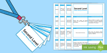 CfE Second Level Number, Money and Measure Lanyard-Sized Benchmarks - Second level numeracy assessment benchmarks,Scottish