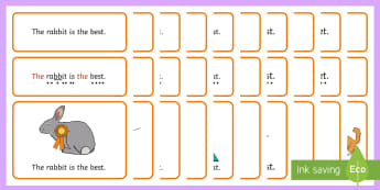 Pets Simple Sentence Cards - Pets, Sentences, sentence cards, reading, phonics, eyfs, literacy, phase, 4, four, letters and sound
