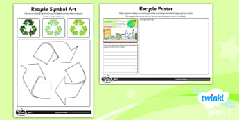 PlanIt - DT LKS2 - Mechanical Posters Home Learning Tasks - planit, design and technology, Go Green, Eco, recycle, warrior, environment