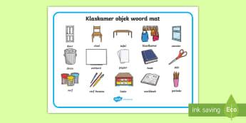 Klaskamer objek Woord mat - Klaskamer objek woord mat, woord mat, klaskamer, objek.