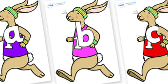 Phoneme Set on Running Hare - Phoneme set, phonemes, phoneme, Letters and Sounds, DfES, display, Phase 1, Phase 2, Phase 3, Phase 5, Foundation, Literacy