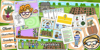 Childminder Olivers Vegetables Resource Pack - child minder