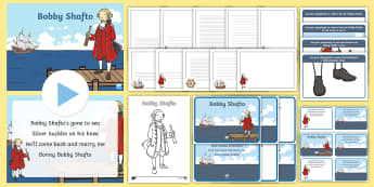 Bobby Shafto Resource Pack - World Nursery Rhyme Week, bobby shafto, display, sequencing, songs and rhymes, nursery rhymes,