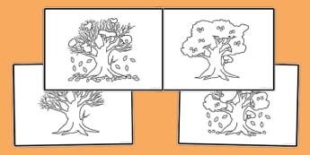 Autumn Sequencing Activity - autumn, sequencing, activity, sequence, republic of ireland