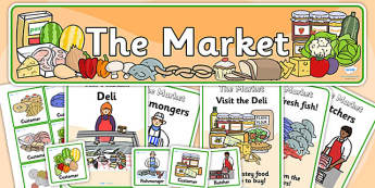 The Market Role Play Pack-the market, role play, role play pack, the market pack, the market role play, role play materials, activities