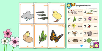 Springtime Hunt Activity Pack - springtime, hunt, activity, pack, group