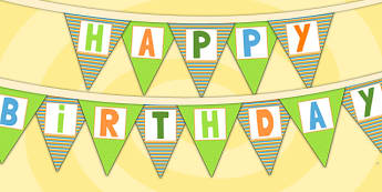 Jungle Themed Happy Birthday Bunting - jungle, parties, birthday
