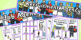 Recruitment Agency Role Play Pack-recruitment agency, role play, pack, role play pack, recruitment agency pack, pack, role play materials