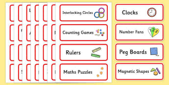 Editable Maths Area Resource Labels (Red) - Maths resource labels, maths area resources, Label template, Resource Label, Name Labels, Editable Labels, Drawer Labels, KS1 Labels, Foundation Labels, Foundation Stage Labels, Teaching Labels, Resource La