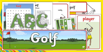 Rio 2016 Olympics Golf Resource Pack - rio 2016, 2016 olympics, rio olympics, golf, resource pack, resource, pack