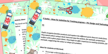 P Scales Ideas for Tracking Progress P6 Design and Technology