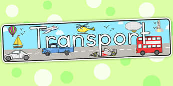 Transport Display Banner - transport, transport display, banner
