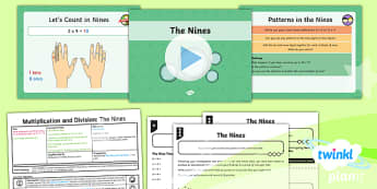 PlanIt Y4 Multiplication and Division Lesson Pack Multiplication and Division Facts (3)