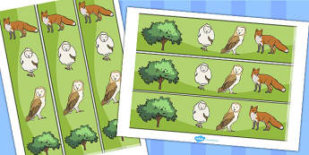 Owl Babies Display Borders - Owl Babies, Martin Waddell,  story, story book, story book resources, story sequencing, story resources, owl, family, PSHE, PSE, living things, Display border, classroom border, border,