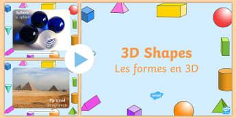 3D Shape Photo PowerPoint English/French - 3D Shape Photo PowerPoint - 3d, shape, photo, powerpoint, objects, 3dshape, 3d sape, ojects, shaoe,