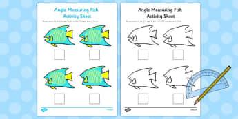 Angle Measuring Fish Activity - angle, measuring, fish, activity