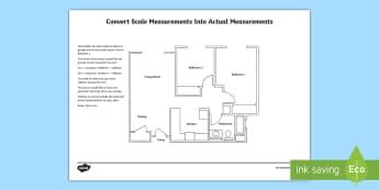 Planning a garage using scale measurements Activity Sheet - Design it, Build it, garage, house, worksheet, plan, measurement, scale drawing, units, activity.