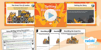 PlanIt Y1 Time Travel: The Great Fire of London Lesson Pack Story Writing (3)