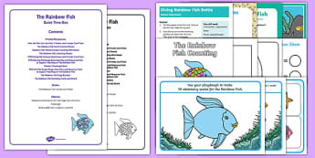 Quiet Time Box to Support Teaching on The Rainbow Fish