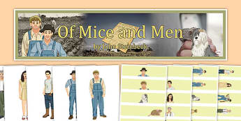 Of Mice and Men Display Pack - of mice and men, display pack, display, pack