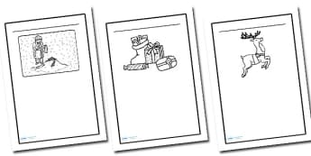 Writing Frames to Support Teaching on The Snowman - writing frame, frame, writing, the snowman, snowman, book, story book, childrens story, the snowman recources, writing aid, writing template, template, literacy
