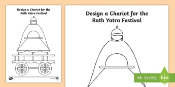 KS1 Rath Yatra Activity Sheet - Hinduism, Hindu, festival, gods, celebration, Worksheet