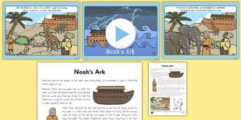 Noah's Ark Story PowerPoint and Script - usa, america, powerpoints, christianity, religion