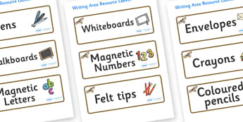 Buzzard Themed Editable Writing Area Resource Labels - Themed writing resource labels, literacy area labels, writing area resources, Label template, Resource Label, Name Labels, Editable Labels, Drawer Labels, KS1 Labels, Foundation Labels, Foundatio
