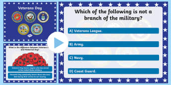 USA Veterans Day PowerPoint