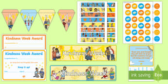 Twinkl Kindness Week Discover and Learn Display Pack - Twinkl Kindness Week, kindness week, twinkl kindness week, kind resources