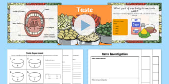 KS1 Science Senses Taste PowerPoint - sense, senses, tasting