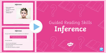 Guided Reading Skills Inference PowerPoint - guided reading skills, guided reading, read, reading, inference, powerpoint, presentation
