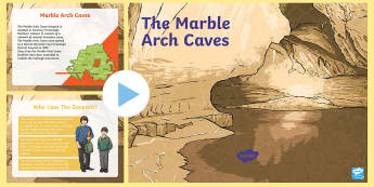 Marble Arch Caves PowerPoint - Northern Ireland, Marble Arch Caves, Fermanagh, caves, explorer