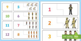 Pos Cyfri a Chyfatebu 1 i 12 Pobl Sy'n Ein Helpu - gem, pos, pobl sy'n ein helpu, helpu, pobl, cymuned, cymunedau, rhif, cyfri, cyfatebu, cyfateb,Wels