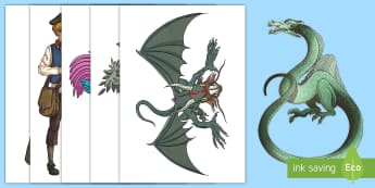 Fantasy Characters Display Cut-Outs - Displays, display, fantasy, characters, fairy tale