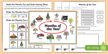 Months of the Year Activity Pack - cfe, curriculum for excellence, months of the year, activity, pack