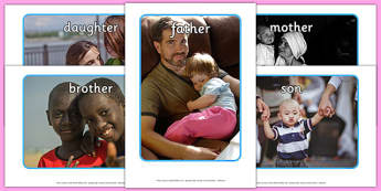 My Family Display Photos - my family, family, display, photos, display photos, photographs