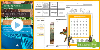 Dudley Zoo Teach Event Activity Pack - Twinkl Teach Event Resources, Dudley Zoo, evolution, inheritance, fossils