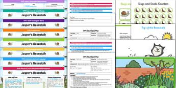 EYFS Bumper Planning Pack to Support Teaching on Jasper's Beanstalk - EYFS, early years planning, Nick Butterworth