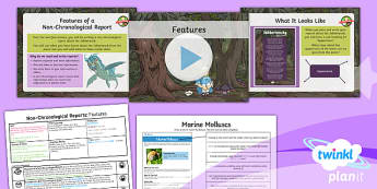 PlanIt Y5 Animals: Jabberwocky Lesson Pack Non-Chronological Reports (2)