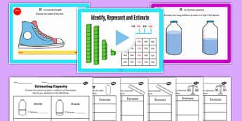 Year 4 Identify Represent Estimate Lesson 4 Estimating Measures