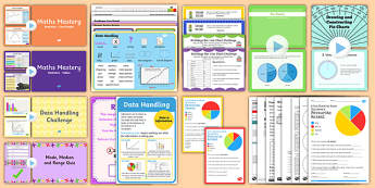 CfE Numeracy and Mathematics – Second Level – Information Handling – Data and Analysis  Resource Pack
