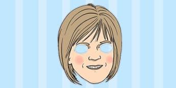 Nicola Sturgeon Role Play Mask - nicola sturgeon, role-play, mask